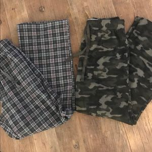 Other - 2 pairs of men's pajama pants / both Small